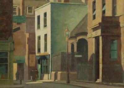 Manette street, Soho - Harold Workman (1946)