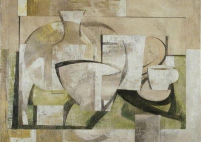 Nature morte grise - Ben Nicholson (1936)