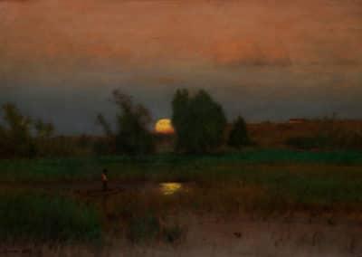 Nightfall - George Inness (1887)