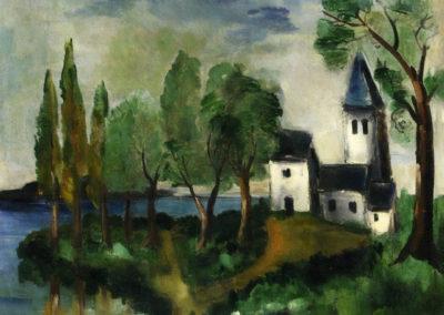 Paysage - Maurice de Vlaminck (1918)