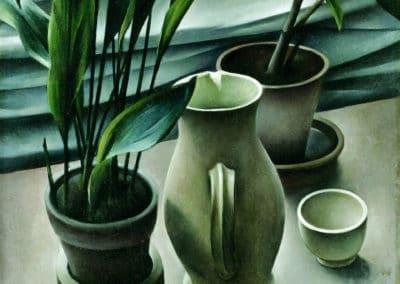 Plantes - Alexander Kanoldt (1927)