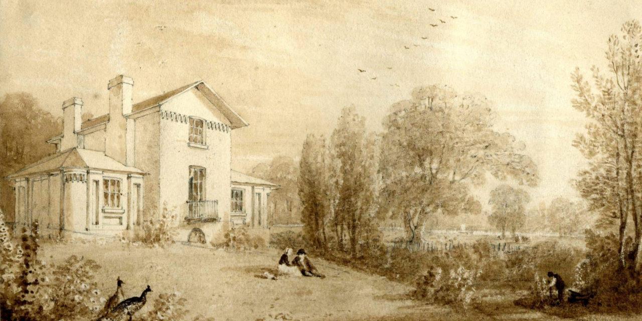 Sandycombe Lodge – J. M. W. Turner