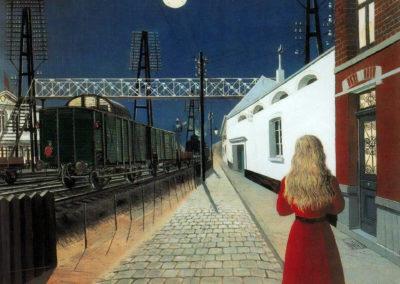 Solitude - Paul Delvaux (1955)