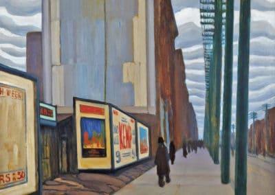 Street Scene - Lawren Harris (1920)