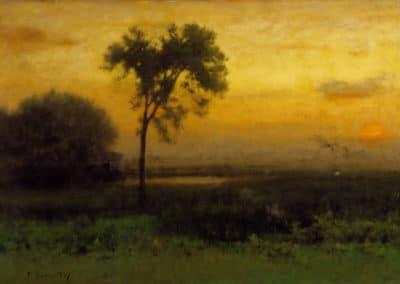 Sunrise - George Inness (1887)