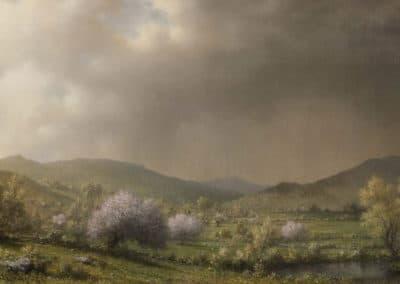 April showers - Martin Johnson Heade (1868)