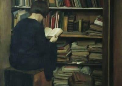 Der alte Bücherkasten - Friedrich Frotzel (1929)