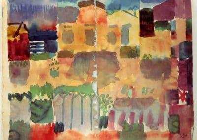 Garden in St Germain in Tunis - Paul Klee (1914)