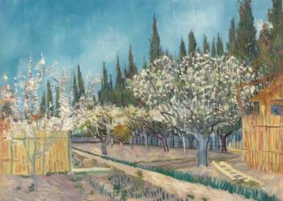 Jardin - Vincent van Gogh (1888)