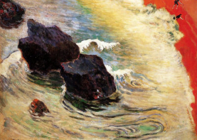 La vague - Paul Gauguin (1888)
