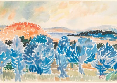 Landscape - Henri Edmond Cross (1908)