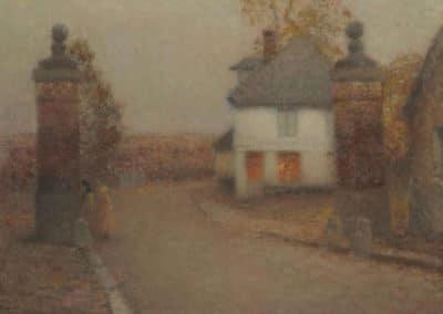 Les piliers - Henri le Sidaner (1927)