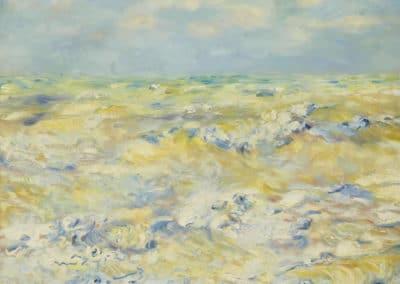 Marine à Berneval - Pierre-Auguste Renoir (1879)