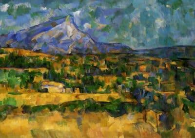 Mont Sainte-Victoire - Paul Cézanne (1904)