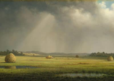 Newburyport meadows - Martin Johnson Heade (1881)