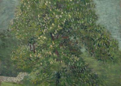 Noisetier en fleurs - Vincent van Gogh (1887)