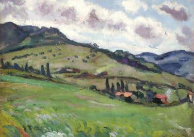 Paysage - Lucien Mainssieux (1919)
