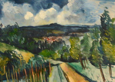 Paysage - Maurice de Vlaminck (1939)