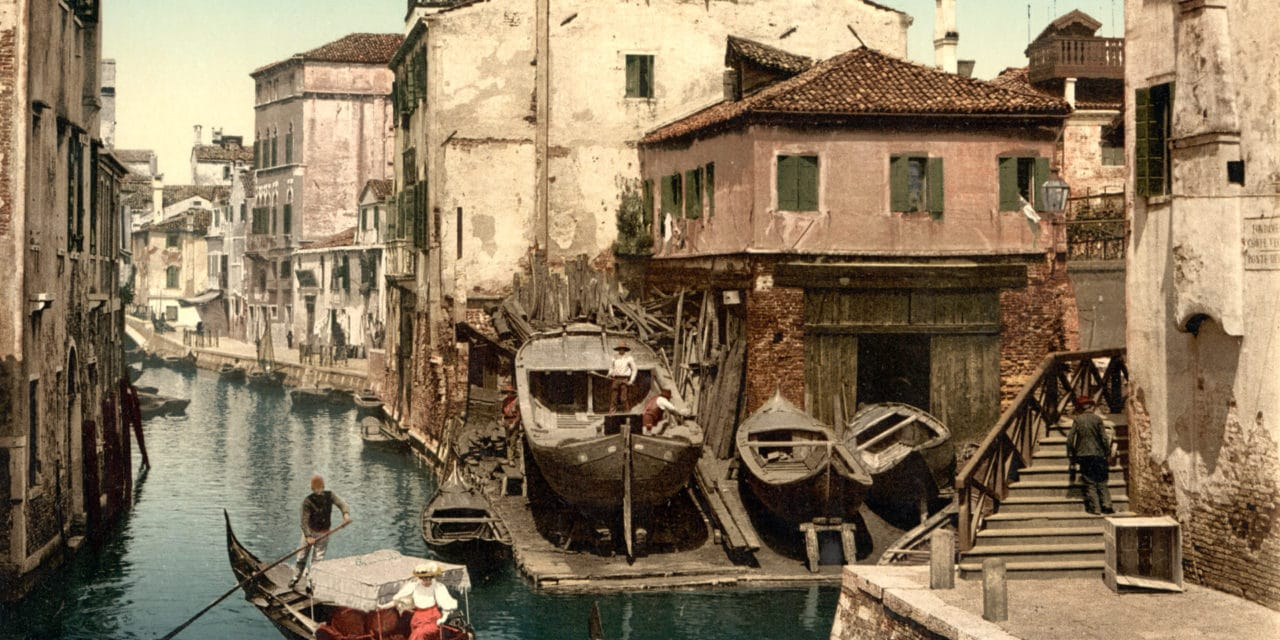 Photochromes de Venise