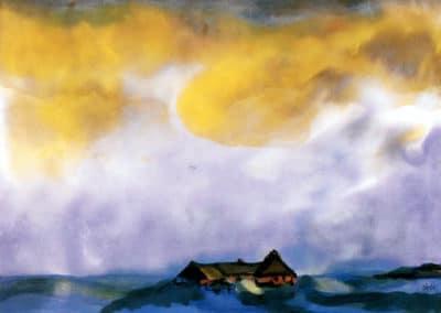 Sky - Emil Nolde (1910)