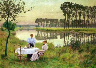 Soirée d'été - Emile Claus (1895)
