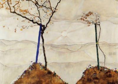 Soleil d'automne 1 - Egon Schiele (1912)