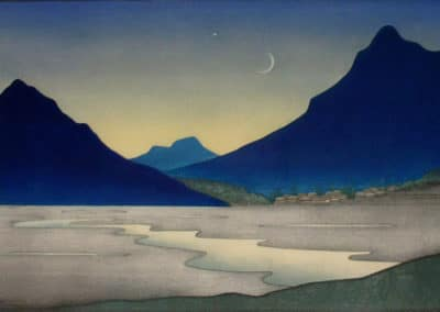 The crescent moon rides low - Lilian May Miller (1932)