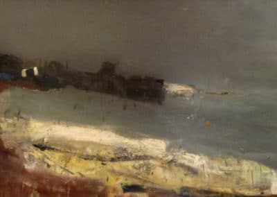The sea and the harbour - Joan Eardley (1961)