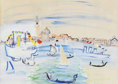Venise, San Giorgio Maggiore - Raoul Dufy (1925)