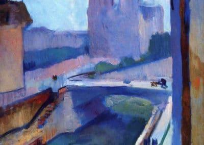 Apercu de Notre Dame en fin d'après midi - Henri Matisse (1902)