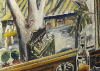 Blick aus dem Hotelfenster - Paul Kleinschmidt