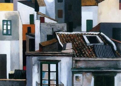 Case di Palermo - Renato Guttuso (1976)