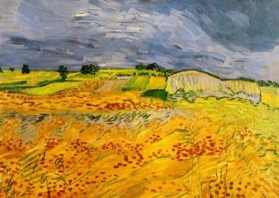 Champs de blé - Vincent van Gogh (1890)