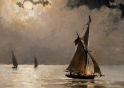Clair de lune - Antonio Muñoz Degrain (1889)