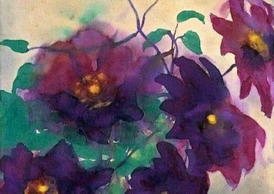 Fleurs - Emil Nolde (1912)