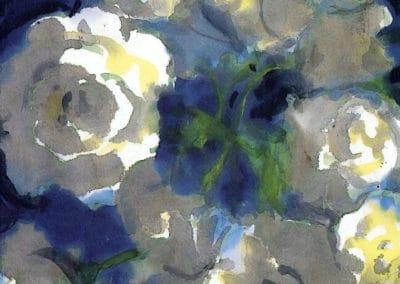 Floraison blanche - Emil Nolde (1915)