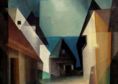 Gaberndorf II - Lyonel Feininger (1924)