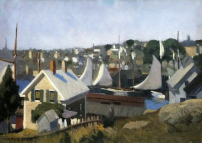 Gloucester Harbor - Edward Hopper (1928)