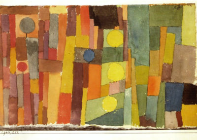 In the style of Kairouan - Paul Klee (1914)