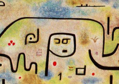 Insula dulcamara - Paul Klee (1937)