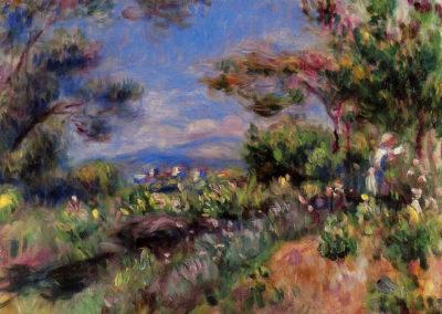 Jeune femme à Cagnes - Auguste Renoir (1905)