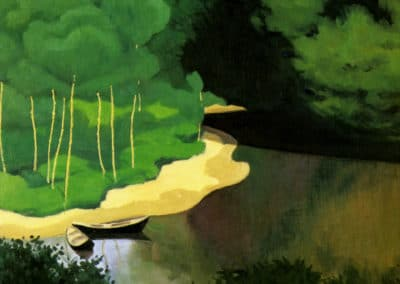 La Dordogne à Carrenac - Félix Vallotton (1925)