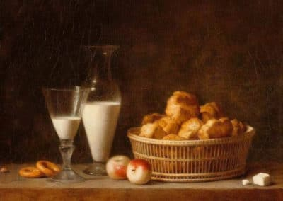 La petite collation - Henri-Horace-Roland Delaporte (1787)