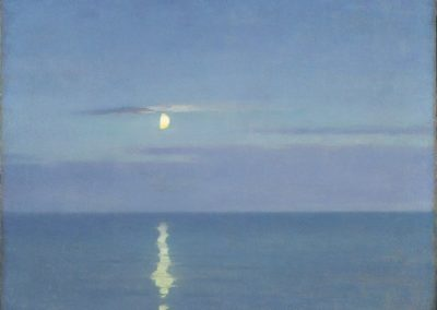 Mirror of the moon - William Blair Bruce (1891)
