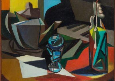 Natura morta con candela - Renato Guttuso (1947)