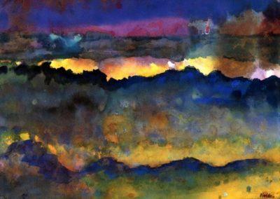 Ocean - Emil Nolde (1903)