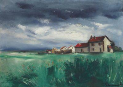 Paysage - Maurice de Vlaminck (1928)