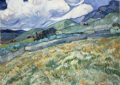Paysage de Saint Remy - Vincent van Gogh (1899)