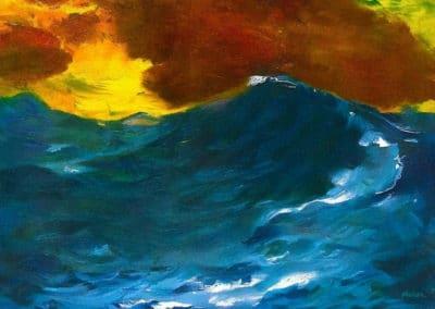 Paysage de mer - Emil Nolde (1911)