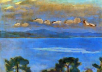 Paysage de nuit - Pierre Bonnard (1912)